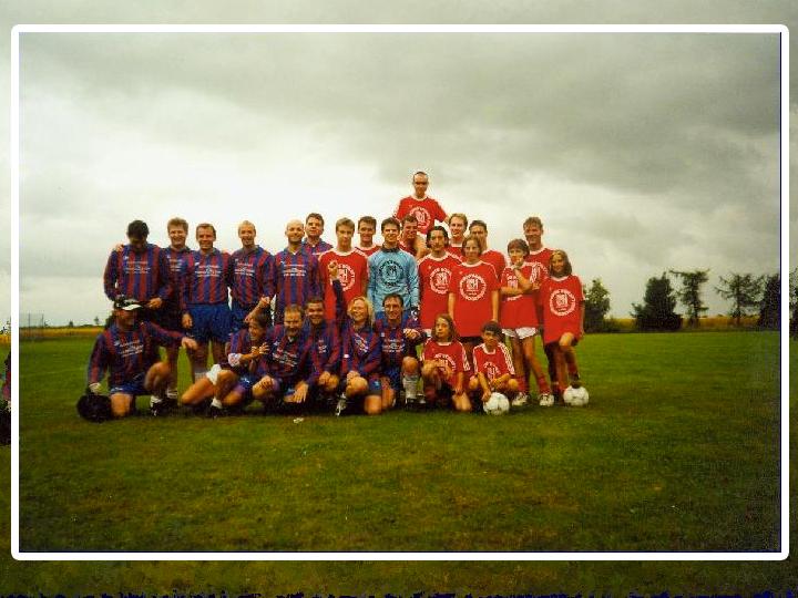Gruppenbild Fusballverein
